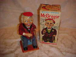 old metal tin japan mcgregor rosko cigar