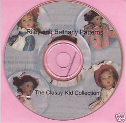 For Riley And Bethany Doll Clothes Patterns On Cd