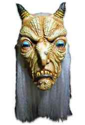 Goat Witch Mask Scary Monster Fancy Dress Up Halloween Adult Costume Accessory