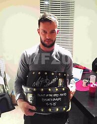 Wwe Nxt Finn Balor Hand Signed Real Nxt Championship Belt With Proof And Coa 2
