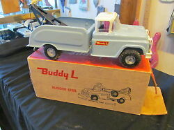buddy l heavy steel flat tire wrecker