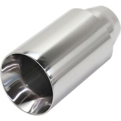 New Exhaust Muffler Tail Tip Pipe For F350 Truck Honda Civic Accord Jeep Ranger