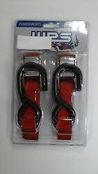 Ratcheting Tie-downs For Trailering Atv's, Motorcycle, Dirt Bikes