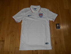 Nwt Authentic 2014 Nike Us Soccer National Team Mens Jersey Sm Fifa World Cup