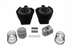 Harley,sportster,57-71 2 New Cylinders With Piston Kits,900