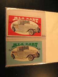 1970 Topps Way Out Wheels 2 Proof Card 29