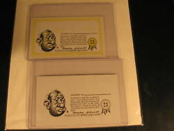 1964 Topps Nutty Awards 2 Proof Card Set 23
