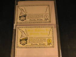 1964 Topps Nutty Awards 2 Proof Card Set 2