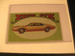 1970 Topps Way Out Wheels Original Proof Expo 67x