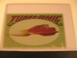 1970 Topps Way Out Wheels Original Proof Turbo-sonic