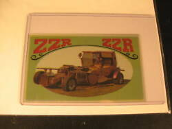 1970 Topps Way Out Wheels Original Proof Zzr Zzr