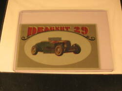 1970 Topps Way Out Wheels Original Proof Dragnet 29