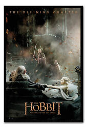 Framed The Hobbit Battle Of Five Armies Aftermath Poster New