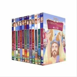 The Bible Animation Collection 13 Dvds Set - William B.kowalchuk Dvd Sealed