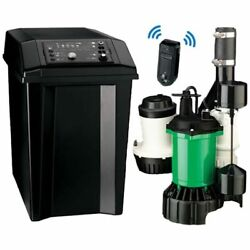 Myers Mbsp-3c - 1/2 Hp Combination Primary And Backup Sump Pump System W/ Wifi ...