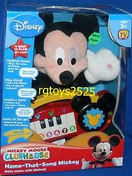 Disney Mickey Mouse Clubhouse Name That Song 12 Mickey New Talking Play Along