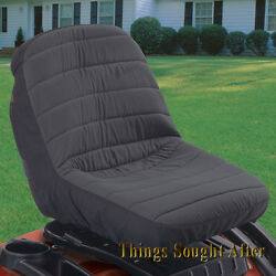Small Seat Cover For Lawn Tractor Mower John Deere Mtd Cub Cadet Husqvarna Other