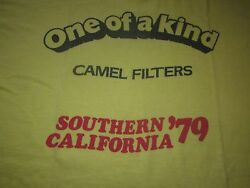 One Of A Kind Camel Filters Southern California 79 Vintage Tee Shirt Joe Camel