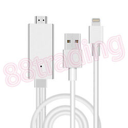 Digital Hdtv Hdmi Av Cable To Transfer Video Audio Music From Phone Tab To Tv