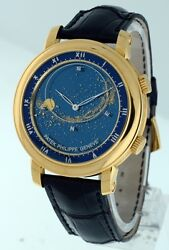 Patek Philippe Sky Moon Celestial 18k Yellow Gold 43mm gent's watch.