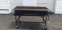 Big John A3p 60 Propane Grill Best Portable Rolling Barbecue Charcoal Used