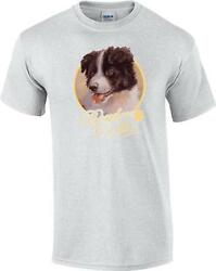 Border Collie Puppy Dog Paw Canine T-Shirt