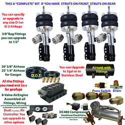B Fbs-ply-20-3 Plymouth Plug And Play Fbss Complete Air Suspension S