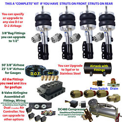 B Fbs-eag-04-3 Eagle Plug And Play Fbss Complete Air Suspension S