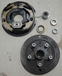 Basic Kit 5 X 5 Drum 3500 10 Electric Backing Plate Left Side Only Trailer