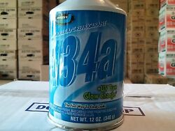 R134A Refrigerant with UV Dye 1-Case of (12)