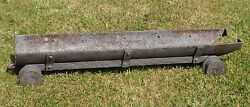Wwi Imperial Russia Russian Shore Fortifications Railway Shell Trolley Carriage