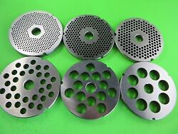 Pick Your Size 42 Meat Grinder Plate Disc Cabelas Hobart Biro Weston Stainless