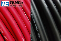 Temco 1 Gauge Awg Welding Lead And Car Battery Cable Copper Wire   Made In Usa