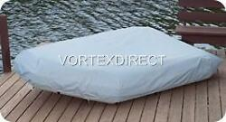 New Grey Vortex Heavy Duty 11 Ft Inflatable Boat Cover Fast Free Shipping