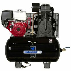 Industrial Air 13-hp 30-gallon Two-stage Truck Mount Air Compressor W/ Electr...