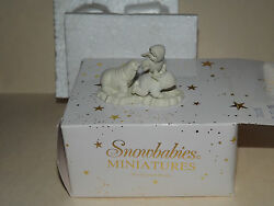 Dept 56 Snowbabies Miniatures Hand Painted Pewter I Can't Find Him Set Of 3