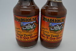 Roadhouse Jalapeno And Hickory Texas Tango Bbq Sauce 2 Glass Bottles 19 0z Each