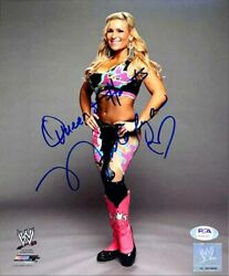Wwe Natalya Hand Signed Autographed 8x10 Photo With Proof And Psa Dna Coa 6
