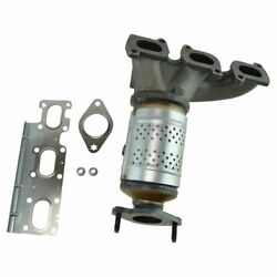 Exhaust Manifold W/ Catalytic Converter Assembly And Installation Kit For Edge Mkx