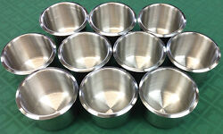 Drink Holder - 10 Poker Stainless Steel Drop In For Can Bottle - Free S/h