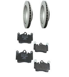 2 Rear Ate Rotors Back Textar Brake Pad Set For Cars W/ 330mm Disc For Audi