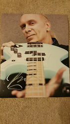 Billy Sheehan Signed Autographed 8x10 Photo Mr Big Winery Dogs David Lee Roth D