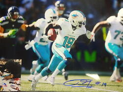 Jakeem Grant Miami Dolphins 1st Game Signed Autographed 11x14 Photo W/ Photo Pro