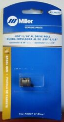 Miller Genuine Drive Roll .030-1/16 Al For Spoolmatic And Xr Series - 136135