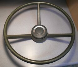 1970 A And B Body Green Steering Wheel Mopar Dodge Plymouth 2996715
