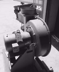 North American 1810 Cfm Blower Model 2412-d-t10d10 Outlet 10 Hp Tefc Motor