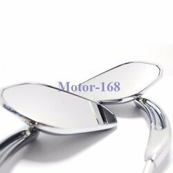 Chrome Motorcycle Parts-rear View Mirrors For Harley Davidson Sportster 168 Moto