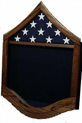 Air Force Master Sergeant Msgt Military Award Wood Shadow Box Medal Display Case