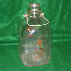 Antique One Gallon Milk Bottle – The Swing Is To Goodrich