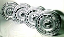 Mercedes Aluminum-alloy Bundt Wheels 14x6 New Oe Set Of 4